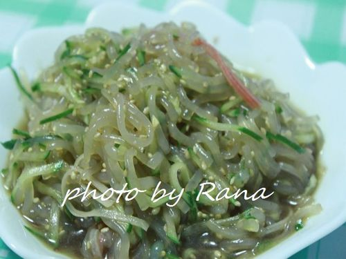 Chinese-style Shirataki Noodles Salad