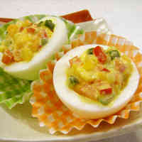 Deviled Eggs for your Bento.
