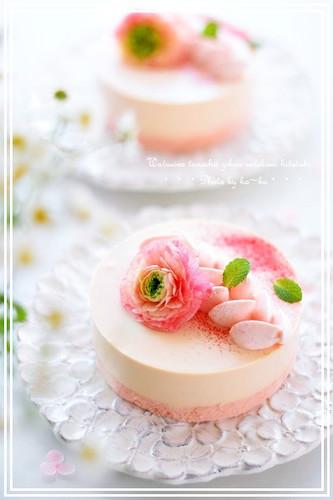 Cherry Blossom Tiramisu