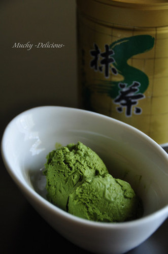 Egg-Free & Easy Rich Matcha Ice Cream