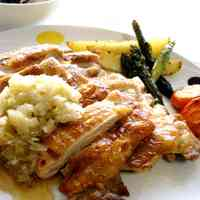 Crispy and Crunchy Chicken with Onion & Salt Sauce