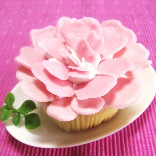 For Mother's Day! Easy Mini Carnation Cake