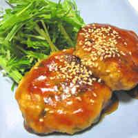 Furaibo Style ~ Chicken Tofu Burgers