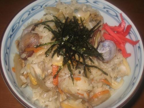 Hearty Manila Clam Rice