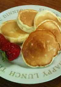 Wheat & Egg-free Rice Flour and Soy Milk Pancakes