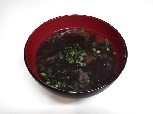 Easy Tororo Kombu Soup