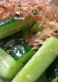 Instant Prep! Japanese Pub-style Salt Cured Cucumbers