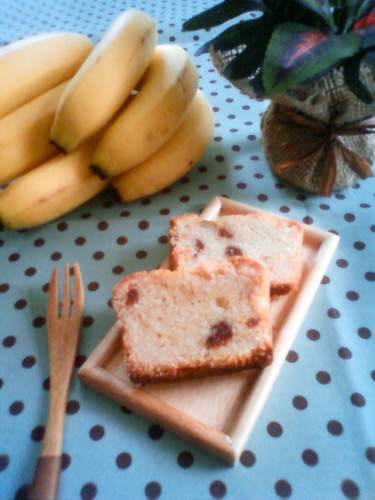 Macrobiotic Banana Pound Cake