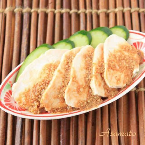 Tender Moist Chicken Breast Chinese Style