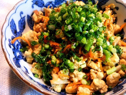 No Draining Needed Delicious Iri-Dofu (Scrambled Tofu) without Meat