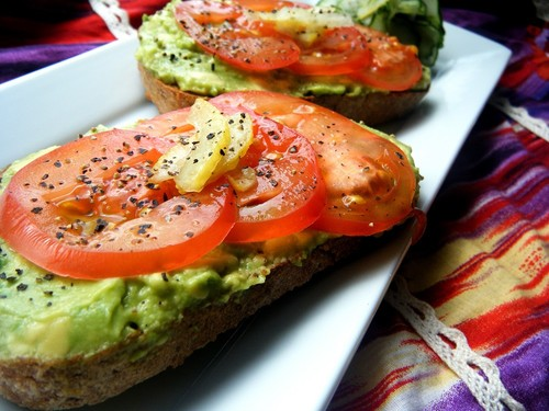 Everyone's Favourite Avocado Open-faced Sandwich
