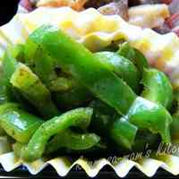 Easy Green Peppers Curry Stir-Fry