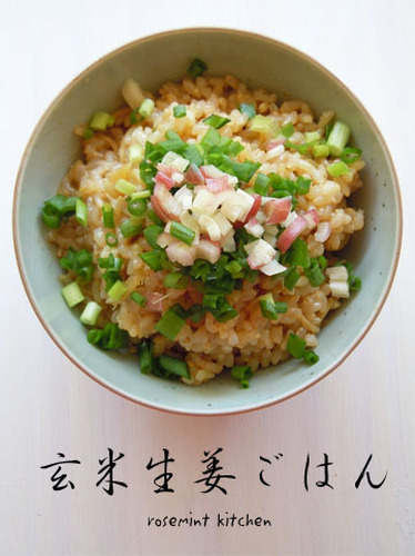 Macrobiotic Ginger Brown Rice