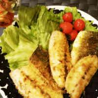 Quick Curry-Breaded Horse Mackerel