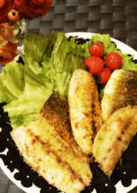 Quick Curry-Breaded Horse Mackerel