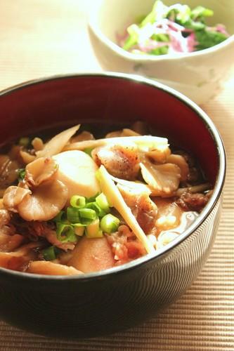 Yamagata-Style Stewed Taro Root