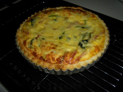 Simple Home-Made Quiche without Heavy Cream