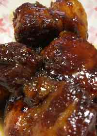 Pressure Cooked Meltingly Tender Simmered Pork Belly (Buta no Kakuni)