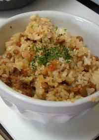Natto Cheese Rice