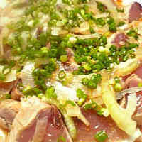 Seared Bonito With an Easy and Tasty Ponzu Sauce