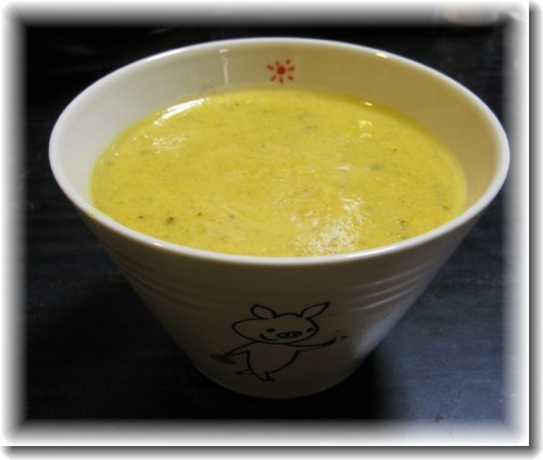 Macrobiotic Carrot Soup