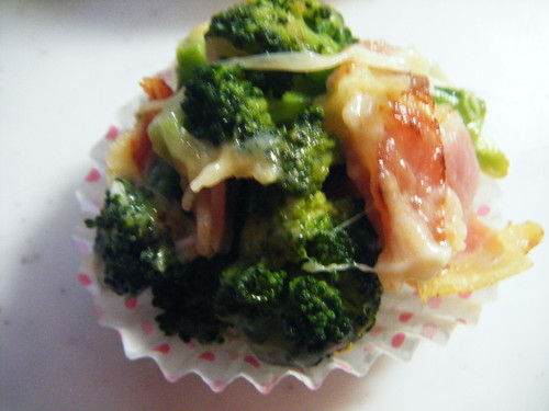 Broccoli and Cheese for your Bento