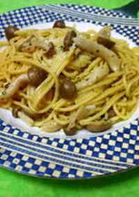 Mushroom and Basil Pasta