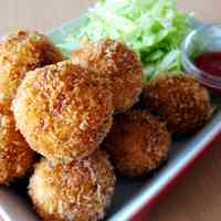 Bite-sized Croquettes with Cheese