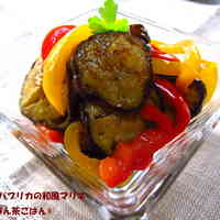 Eggplant & Bell Pepper Japanese Marinade