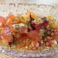Very Easy!! Octopus and Tomato Marinade