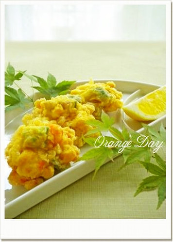 Light and Airy Avocado, Shrimp, and Corn Fritters