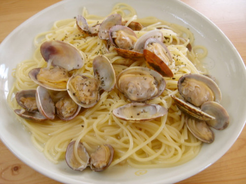 Spaghetti alle Vongole in Bianco - One Pan Cooking