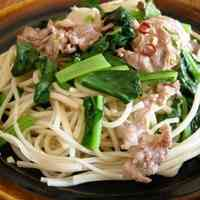 Asian Somen Noodle Chanpuru with Fish Sauce