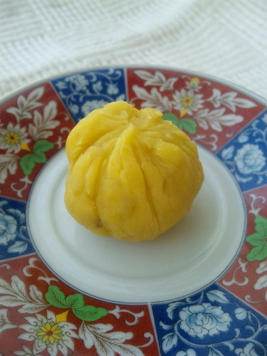 For Bentos! Sweet Potato Chakin Shibori