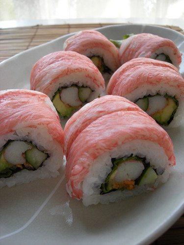 California Rolls for Entertaining