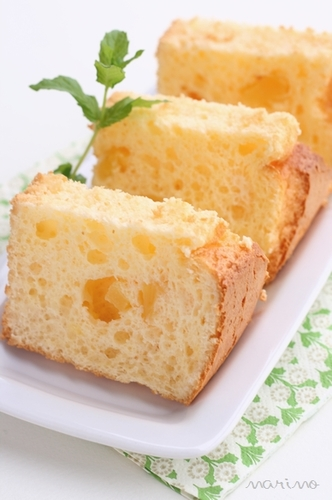 Pineapple Cheesecake Chiffon