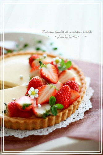 Custard Pudding Tart