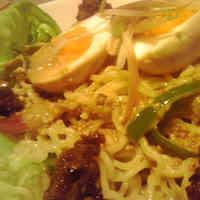 Ramen Salad with Sesame Dressing at Home