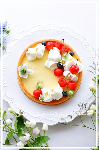 Cheese Pudding Tart