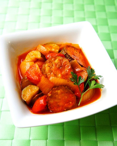Simple Ratatouille with Tomatoes and Summer Vegetables