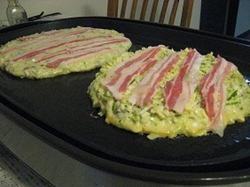 Superb! Pork and Egg Okonomiyaki