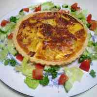 Easy Potato Quiche Made From Scratch