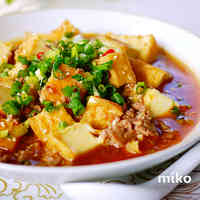 Super Quick Japanese-Style Mapo Tofu with Atsuage