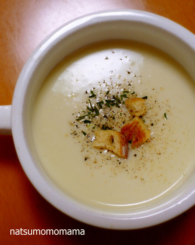 Vichyssoise in a Rice Cooker