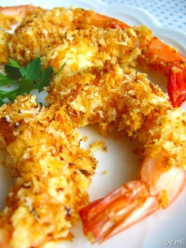 Non-Fried Shrimp with Herb Salt