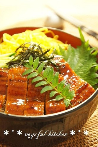 """Himatsubushi"" Style Eel Rice For Midsummer's Day"