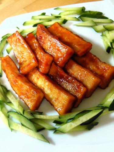 Koya Dofu Chinese-Style Appetizer