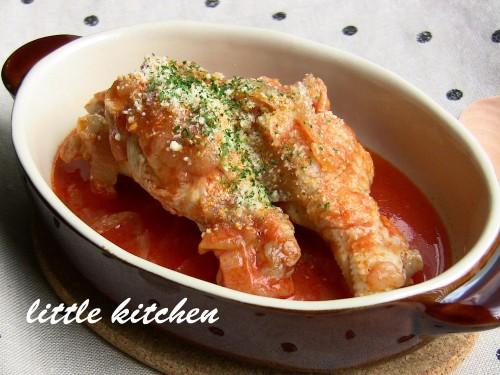 Chicken Drumettes Stewed in Tomato Juice