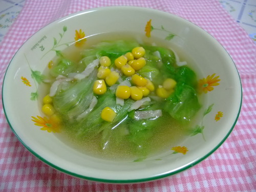 Soup with Lots of Lettuce