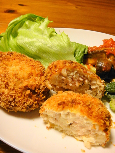 Creamy Minced Chicken Breast Creamy Cutlets